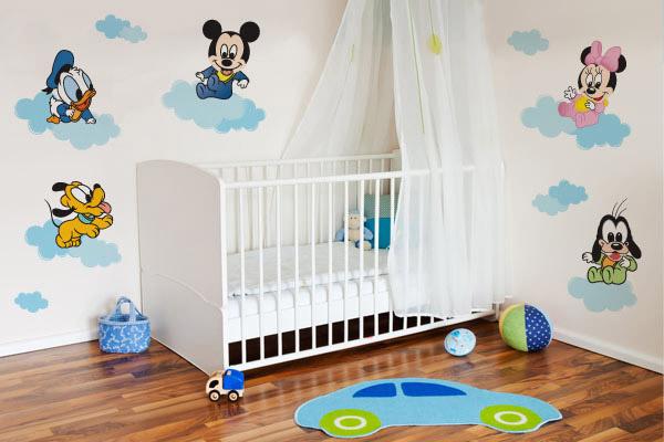 Adesivo de parede Baby Disney- Disponível para compra no site do Mudo Minha Casa